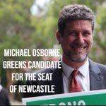 Newcastle Greens have voted and our state candidate for the by-election and the 2015 candidate is @NewyMichael http://t.co/ChzsXUhLQt