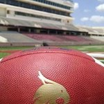 ITS OFFICIALLY GAME DAY!! #TXST #PackBobcatStadium http://t.co/ud3aPbcshC