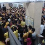 "BEST TEAM. ♡ ""@teamUST: A sea of yellow at the St. Raymonds Building lobby. #GoUSTe http://t.co/wokcIgmYx3 via 