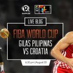 No TV? No problem! Gilas Pilipinas vs. Croatia LIVE BLOG is now up! Tune in! http://t.co/R45DMcAZb5 #WinningEnergy http://t.co/MLHmUSzvAg