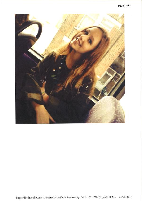 Alice Gross, 14, still missing from #Hanwell in #Ealing borough.  We urge anyone who may have seen her to call 101 http://t.co/RsCmUtjIBC