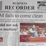 RT @ashfaqmunir1pti: This #PM has no shame!! http://t.co/eJ3onPmr95 #GoNawazGo#AzadiSquare