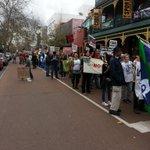 As far as the eye can see... #MarchInAugust in #Perth #NoFibs http://t.co/b0ttdm9LtM