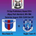 Its here FA Cup day, get down to Allpay Park today and support the lads #WFC http://t.co/3R5oauVh2r