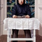 RT @UlsterMuseum: Remembering Seamus Heaney 13 April 1939 - 30 August 2013. This portrait was commissioned by the Ulster Museum in 1973 http://t.co/ZS9lo0r3Tm