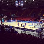 Gilas & Croatia on court for shoot around 1 hour before tip-off! getting goose bumps alr... http://t.co/AVFXYW3qos http://t.co/sD9E0Q4O6G