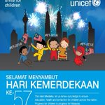 RT @myUNICEF: This Hari Merdeka, let us renew our pledge to ensure education, health and protection for children across the nation. http://t.co/TcvBWS5jht