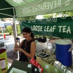 Our #Tea Teen Marie arriving at our Tea Tent at @sarasota - Here till 1pm #SRQ #MySarasota http://t.co/KNHIhaDaqx