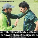 Pakistan Cricket Team also Following IKs Call of #CivilDisobedience ..:) :) Back to back loss..:):):) http://t.co/WC2PzHEVMF