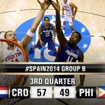 RT @FIBA: For their first #Spain2014 apparition, can the #GilasPilipinas upset Croatia in this #CROvPHI game? http://t.co/YpOgbD1kMV