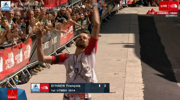 #UTMB14 the winner is François D'Haene! Congrats!!!! http://t.co/pP35XmhAYi