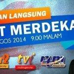 #Merdeka57 : Siaran langsung AMANAT MERDEKA drpd YAB Perdana Menteri, Dato Sri @NajibRazak pukul 9.00 malam ini http://t.co/uYk2mK5k1g