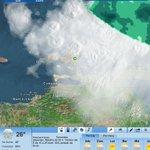 RT @margaritatips: Hay un tormenta muy cerca de la Isla que nos trae mucha lluvia, ver foto del radar... http://t.co/xllF3vObc9