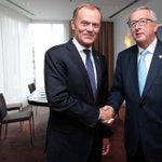 RT @NatashaBertaud: .@JunckerEU meets with Prime Minister of Poland Donald Tusk http://t.co/pZ7UxM7q7V