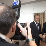 FOTO: spotkanie @premiertusk z @JunckerEU. Więcej zdjęć z #Bruksela --> https://t.co/vdyQI9GusQ http://t.co/BokxcHPzIp