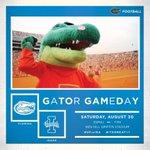 RT @GatorZoneFB: It's finally GATOR GAME DAY! #UFvsIDA http://t.co/LJa4sJvTno