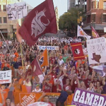 Its officially college football season. The Washington State flag has made its first appearance on @CollegeGameDay. http://t.co/T9CY5p5Lqy