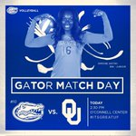 Its Match Day! See you at 2:30 for #Gators vs. @OU_Volleyball! Free admission w/ valid UF/Idaho @GatorZoneFB tix! http://t.co/tpmYiysG3v