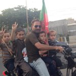 The janoon love and passion for #AzadiMarchPTI rally in Khi @ImranKhanPTI @PTIofficial http://t.co/9GX1s4hyE2