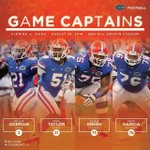 RT @GatorZoneFB: Here are your captains for tonight's #UFvsIDA matchup. http://t.co/s03fNuwhJ9
