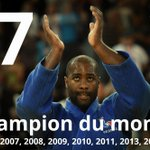 RT @EurosportCom_FR: CHAMPION DU MONDE ! Teddy #Riner décroche son 7e titre planétaire en battant le Japonais Ryu Shichinohe. http://t.co/0oB1PzSDmp