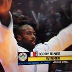 RT @infos140: ????URGENT JUDO Teddy Riner champion du Monde en +100 kg. Son 7ème titre mondial à 25 ans http://t.co/udyCSboGOz