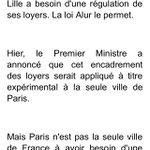 """Aubry réplique à Valls et soutient Duflot. """"Lille a besoin dune régulation de ses loyers. La loi Alur le permet"""" http://t.co/5A2IxxqWG1"""