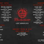 Get pumped for the @Budweiser #MadeInAmerica LA set list and check out the livestream: http://t.co/1v0r0I7TTH http://t.co/Fa6xpWnue3