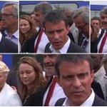 [Cest pas sa journée] Manuel Valls hué en arrivant à la Rochelle [Vidéo] http://t.co/tt8DdL61Tr http://t.co/JoQRZx00ol