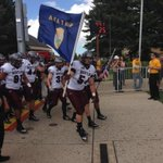 Here come the #Griz! #GRIZvWYO http://t.co/EFR3AqTmgb