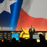 """RT @AdryanaBoyne: """"Thank to your leadership & passion America is turning around"""" @tedcruz at @AFPhq #Dream14 #Prosperidad @VOCESAction http://t.co/vojhl78c9y"""