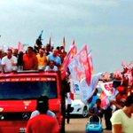 A cidade de Alto Alegre do Maranhão está em festa com a passagem da #CarreataDaMudança com @FlavioDino e comitiva http://t.co/GgZEnhi6NB