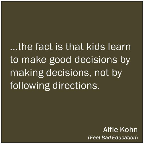 RT @jillsiefken: Great motto for teachers AND parents! #plaea #edchat http://t.co/UWbMqkdvj0