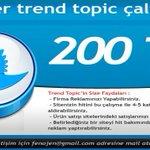 Twitter Trend Topic  #siz 200 TL  #li 300 TL ! http://t.co/MCKQfMOyVH