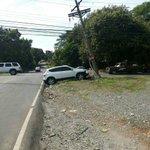 """.@tvntrafico: Auto impacta contra poste en calle 5, David en Chiriquí. Vía @GNF_pa http://t.co/UOBgQScM2w"""""""