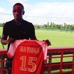 Chris #Mavinga qui signait à Liverpool il ya 5 ans, revient en #Ligue1 en signant à Reims. Cc #Coman - #PSG http://t.co/dmg5bNbHdx