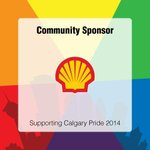 RT @PrideCalgary: Thank you @Shell_Canada for your support & for being a leader! 1st ever energy company to sponsor #YYCPride! http://t.co/jAFtXYUHo8