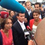 """Manuel #Valls arrive à l#ueps2014 : """"Nous sommes tous des socialistes"""" http://t.co/9T7CAO3Ykv"""