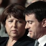 Quand Martine Aubry se rappelle au bon souvenir de Manuel Valls http://t.co/5JHiBugF5L http://t.co/RO2wI6AolY