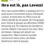 Selon @lequipe, Lavezzi a changé de nationalité. #mercato #PSG http://t.co/Cd7Rugg2ZF