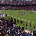 RT @hoscom: Opening kickoff. #ucdavis vs #stanford. @ucdavis #goags! http://t.co/DeKKTdnvc5