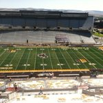 Beautiful day for a border battle between Montana and Wyoming in Laramie, Wyoming. http://t.co/5h2hl8fAyf