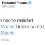 RT @itelefoot: Le tweet de Radamel #Falcao, supprimé juste après sa publication. Erreur de communication ? Compte piraté ? http://t.co/jZwvLVpIou