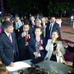 Valiliğin ev sahipliginde 30 Ağustos Zafer Bayramı resepsiyonu için Antalya müzesi bahçesindeyiz http://t.co/hBxzG6Hvpq