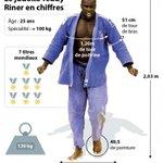 RT @UNSSnational: . @teddyriner décroche son septième titre mondial ! Quelques stats sur ce grand champion... http://t.co/Xbw9NqNhjg