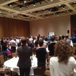 RT @GregClark4AB: Extended standing O for Marissa Taylor at #campfYrefly @PrideCalgary brunch http://t.co/fnkjALgvtf