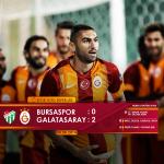 RT @GalatasaraySK: MAÇ SONUCU: Bursaspor 0 - 2 #Galatasaray http://t.co/TNaDXlGNMo
