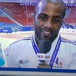 RT @mephisto1954: @teddyriner qui remercie son club @LSC_Levallois sur TF1 http://t.co/vNJvAQvVq4