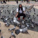 Waka with a Flocka Pigeons http://t.co/A8W8A1Ml9u