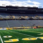 """RT @Dominic_Shelden: Laramie is sunny and in the 70s as we prepare for the #Griz season opener """"welcome to 7220 feet"""" #BigSkyFB http://t.co/1B6OAhZAFN"""